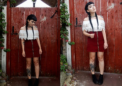 Tiger Lilly by Jessica G., 22 year old Illustrator, fashion blogger & vlogger from York, United Kingdom (9lookbook.com) Tags: bloggers fashion fbloggers ootd york