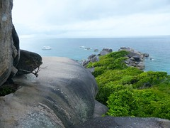 Similan Island, Thailand (Jan-2016) 20-014 (MistyTree Adventures) Tags: seasia thailand outdoor mukosimilannp panasoniclumix similanisland forest shore ocean trees rocks
