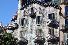 2016 04-24 A Barcelona Casa Batllo IMG_2225 (jpoage) Tags: billpoagephotography color digital landscape photography photos picture travel vacation wallpaper europe spain barcelona