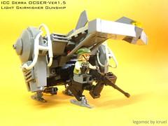 ICC Serra (icycruel) Tags: lego moc vtol gunship modern military scifi outpost charlie skyfish