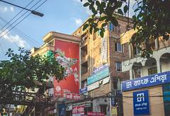 BANGLADESH! (T A S F I Q) Tags: bangladesh mirpur bus map bangladeshi traffic newlens testing 1750 f28 sigma outdoor window bankasia streetlamp iamnikon nikond7000 nikon building architecture footoverbridge