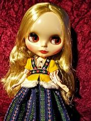 Katinka mit roten Augen