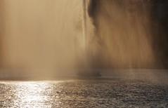 Alster x5565 4 (franxpost) Tags: fontne binnenalster alsterfontne hamburg springbrunnen wasser sonnenuntergang reflektionen