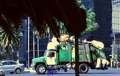 GREEN (Elmo3365) Tags: camion basura truck street