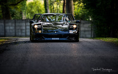 Black Mamba (Raph/D) Tags: legend 1987 80s popup up pop dreamcar dream turbo ef70200mmf28lusm 70200mm lsries series l canoneos7dmarkii colors catchy ii mark 7d eos canon italy pininfarina italien car enzo maranello v8 noire mamba black sportscar lgance arts chantilly 2016 rally supercar f40 ferrari mortefontaine peter auto automotive automobile rare expensive exclusive performance