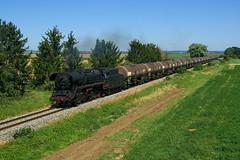 44 546 kurz vor Nördlingen (stephanklotzsch) Tags: bem nördlingen plandampf bayrisches eisenbahnmuseum eisenbahn zug dampf dampflok br 44 546