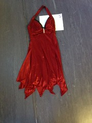 IMG_0789 (Vivid Motion Dance) Tags: vmcostume dress red sparkly handkerchief halter zipclosure cocktail short