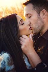The Kiss (Jesse Rinka Photography) Tags: jesserinka wwwjesserinkacom jesserinkaphotography couples love romance twilight quote nikon 60mm naturallight nattylight engagementsession esession engaged