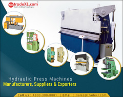 List of Manufacturers, Suppliers and Exporters of Hydraulic Press (TradeXL Media Pvt. Ltd.) Tags: manufacturer manufacturers media machine hydraulic press supplier suppliers exporter exporters tradexl private pvt p