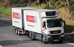 MAN - SPAR Supermarket (scotrailm 63A) Tags: lorries trucks supermarket spar