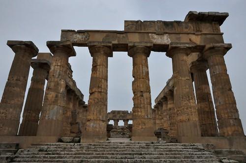 a1v. Selinunte (Sicilia-Italia). Templo E o de Hera
