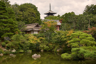 The gardens of Ninna-ji