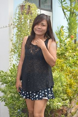 pretty woman wearing a negligee top (the foreign photographer - ) Tags: aug292015nikon pretty woman negligee top khlong thanon portraits bangkhen bangkok thailand nikon d3200