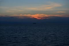 Sunset on the Aegean sea (Alona Azaria) Tags: sunset aegean sea coastline greece sun
