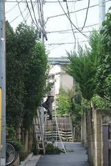 tokyo6012 (tanayan) Tags: urban town cityscape tokyo japan nikon j1 road street alley    jyujo