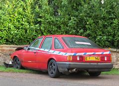1988 Ford Sierra 2.0 GL (Spottedlaurel) Tags: ford sierra policetape authoritiesaware