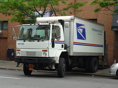 USPS Sterling (Ford) Cargo (JLaw45) Tags: new york united states nyc city urban metro road street northeast america state north metropolis vehicle midtown mid town manhattan island avenue big apple metropolitan area usa newyork newyorkcity bigapple newyorkmetroarea manhattanisland unitedstates unitedstatesofamerica uspsfordcargo usps unitedstatespostalservice ford cargo cabover truck lorry rigid distribution delivery box boxtruck governmentvehicle sterling sterlingcargo