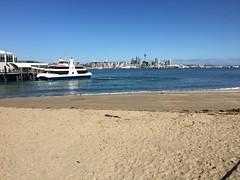 Springtime on Auckland's Harbor (neville samuels) Tags: auckland devonport ferry newzealand