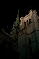 Geneva (silvia.mincarelli1) Tags: nightlight protestant suisse vielleville genve saintpierrecathedral