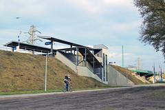View of Aquincum felso railway station (Albert Lugosi) Tags: acquincum budapest hungary mav acquincumfelso