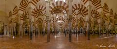 Mezquita catedral..... (Javier Arcilla) Tags: cordoba mezquita catedral andalucia espaa arquitectura panoramica pano interiores pentax pentaxk50 k50 pentax1855mm 1855mm