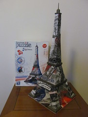 La Tour Eiffel - Paris (pefkosmad) Tags: jigsaw puzzle leisure hobby pastime complete paris eiffeltower 3d plastic 216pieces