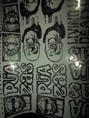 (andres musta) Tags: andres musta zombie sticker stickerart zas art squad zombieartsquad stickers adhesive andresmusta slaps