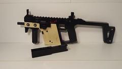 Kriss Vector - Main Photo (That Builder) Tags: magazine gun lego stock working bolt vector mag sights folding trigger detachable