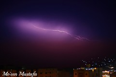 thunder Storm (MoeenMustafa) Tags: winter storm cold rain night thunder thunerstorm