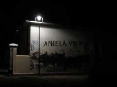 Angela still loved, graffiti in Cetinje, Montenegro (Paul McClure DC) Tags: architecture balkans montenegro crnagora cetinje oct2014