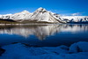 Winter Wonderland (stevenbulman44) Tags: winter sky mountain snow reflection ice water canon filter banff lseries 1740f40l 5dmarkii