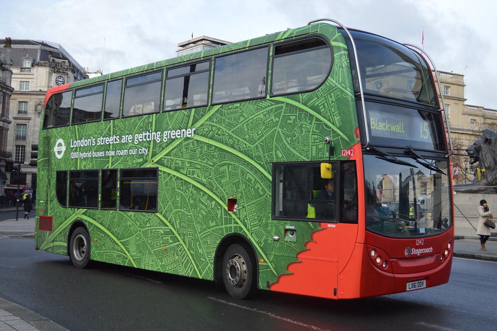 Stagecoach London (12142) LX61 DDV (hotspur_star) Tags: londonbus  londontransport tfl londonbuses