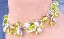 Glimpse of Malibu Green Bracelet K1 P9430A-2