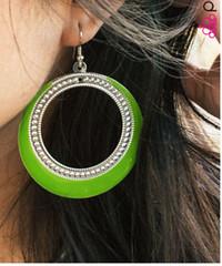 Glimpse of Malibu Green Earrings K1 P5810A-5