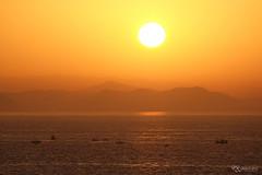 Sunset Fishermen (KRLandscapes) Tags: sunset red sea seascape boats fishing fisherman fujifilm layers fujinon 55200 xt1