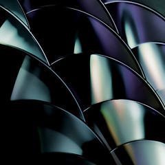 CD art 3 (PeteZab) Tags: abstract color colour square pattern cd compactdisc petezab peterzabulis zabzone
