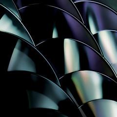 CD art 3 (PeteZab) Tags: abstract color colour square pattern cd compactdisc petezab peterzabulis zabzone
