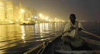 Barquero del Ganges