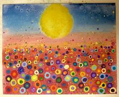 New Year's painting (f l a m i n g o) Tags: art painting explore iphone