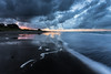 Sunset at Hukuaai Beach, Opotiki (JoshyWindsor) Tags: longexposure sunset newzealand summer water clouds landscape twilight holidays dusk motionblur northisland bayofplenty opotiki canonef1740mmf4l canoneos6d hukuaaibeach