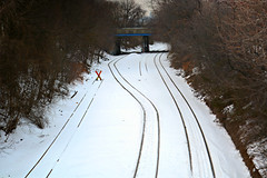 X MARKS THE SPOT (Joe Desiderio) Tags: tracks maspeth