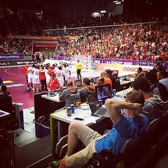Equipe de Tunisie handball #qatar_handball_2015 #liveitwinit #qatar #doha #handball #tunis #tunisia #tunisie #tounes #croitia #hand #worldcup