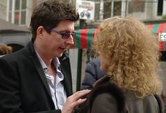 Portrait (Natali Antonovich) Tags: brussels portrait love glasses couple belgium belgie pair talk gesture emotions sweetbrussels