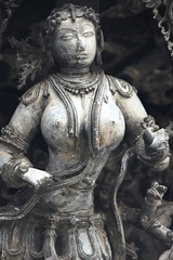 IMG_1354 (kvkamal120) Tags: sculpture archaeology architecture temple women vishnu dancers dancing indian forms karnataka belur celestial channakesava