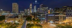 North Bridge Panorama (Jansen Chua) Tags: panorama singapore southeastasia cityscape sony bluehour lasershow centralbusinessdistrict ura tallbuildings marinabaysands singaporetourismboard clarkequaymrt