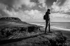 8/52 The Human Element (Explore 23/02/15) (ThatTennisBirder94) Tags: sea england cloud seascape nature grass clouds point landscape outdoors photography landscapes photo sand focus waves cloudy britain head tide human dorset bournemouth element hengistbury