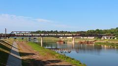 Hamilton Railroad Bridge (Eridony) Tags: bridge ohio water river hamilton explore butlercounty explored metrocincinnati