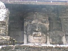 Mayan Stone Face