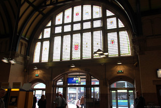 Haarlem Station stained glass