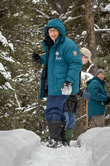 188_7D21073 David on Snowshoes.jpg (dsamsky) Tags: david wildlife yellowstone wyoming paulbrown naturalhabitat seanbeckett phototours winterphotoexpedition